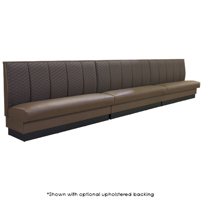3Channel Back Upholstered Banquette Seating Millennium Seating
