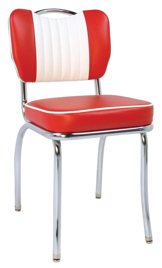 Blue Retro Kitchen Chairs