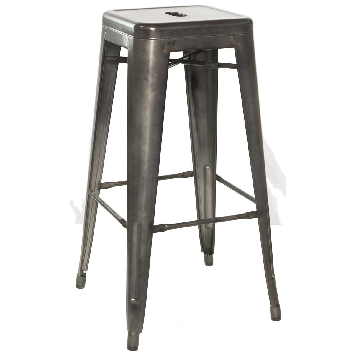 Backless Galvanized Steel Bar Stool  sc 1 st  Millennium Seating & Industrial Bar Stools | Millennium Seating | USA Restaurant ... islam-shia.org