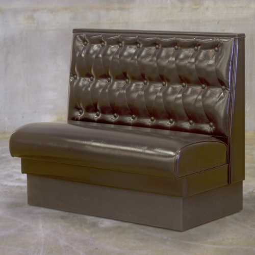 Button tufted top cap tall seat style lifetime