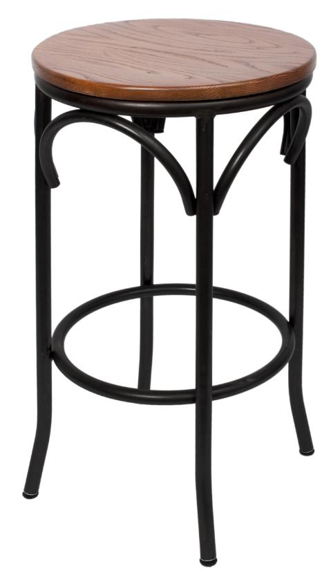 Cross bow stool millennium seating usa restaurant