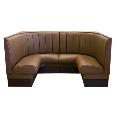 Upholstered 1 2 Restaurant Corner Booth Millennium Seating