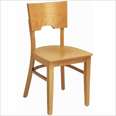 Solid Wood Back Restaurant Chair