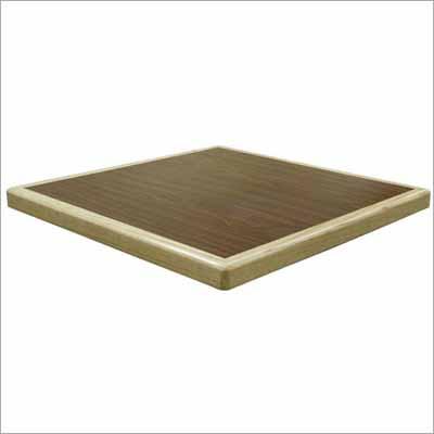 VALUE Laminate Table Top   Waterfall Wood Edge