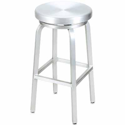 Classic Aluminum Outdoor Swivel Bar Stool  sc 1 st  Millennium Seating & Classic Aluminum Outdoor Swivel Bar Stool | Millennium Seating ... islam-shia.org