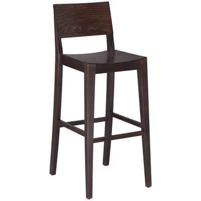 Madison Wood Bar Stool Millennium Seating USA Restaurant
