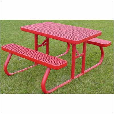 Picnic Tables Millennium Seating USA Restaurant Furniture - Mesh picnic table