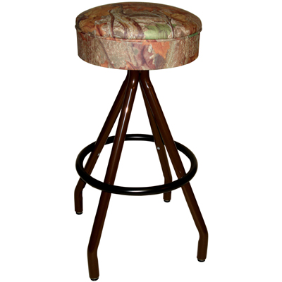Backless Wilderness Series Swivel Bar Stool Millennium