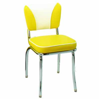 50u0027s Elite V Back Retro Diner Chair
