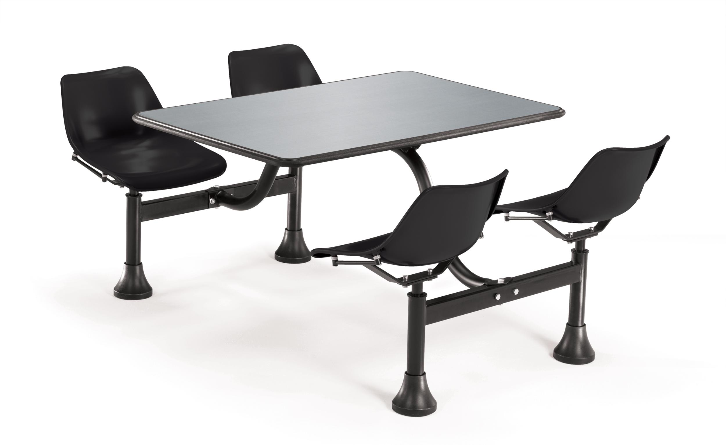 Model 1005 Indoor/Outdoor 4 Seat Cluster Table, 30