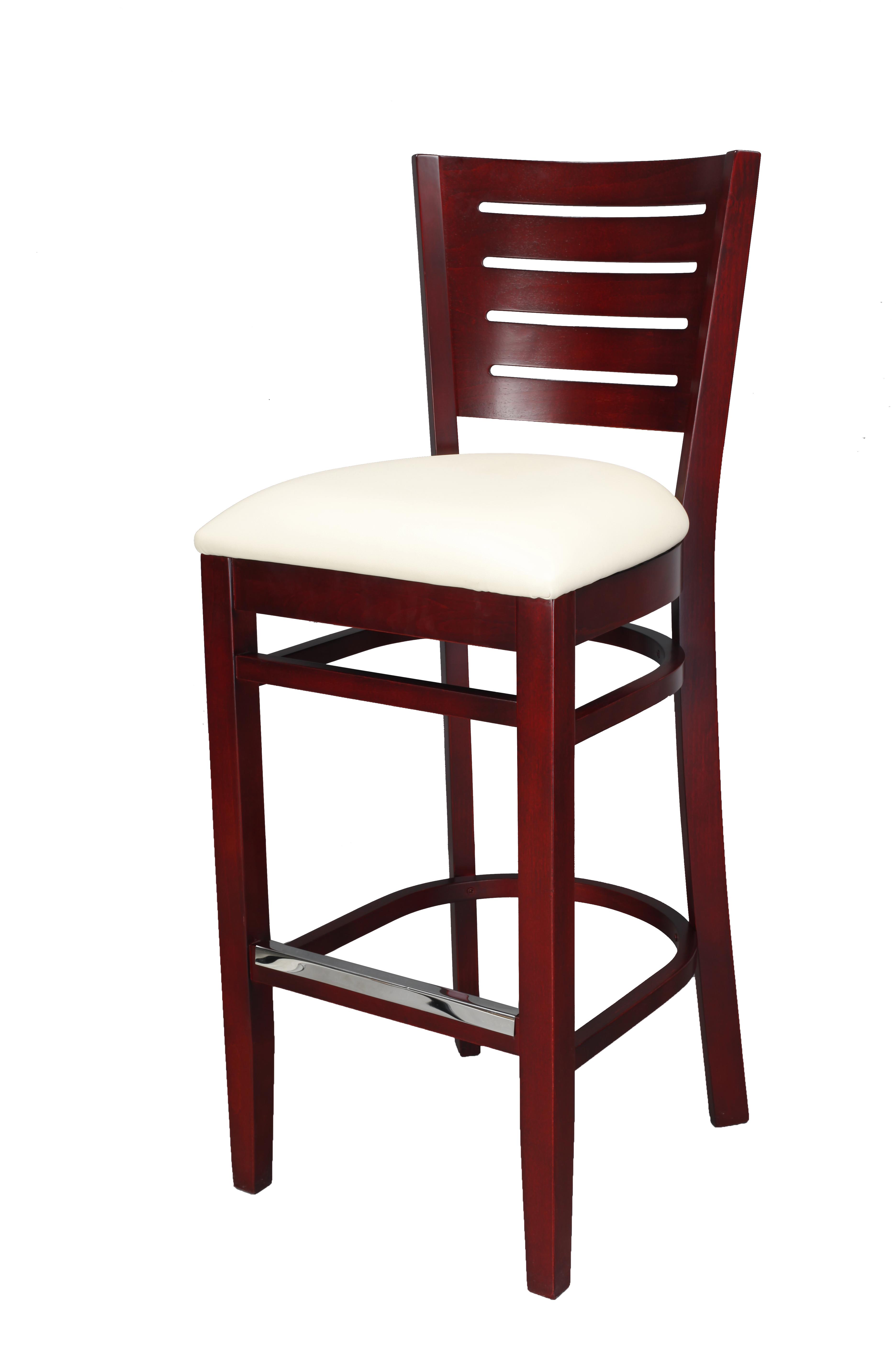 Wood bar stools millennium seating usa restaurant