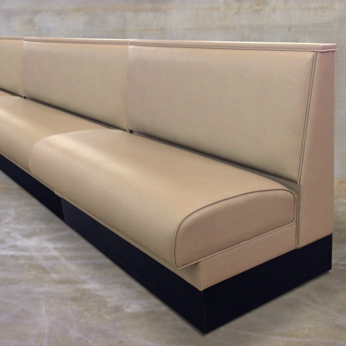 Standard Seat Banquettes, Priced Per Foot   Millennium Seating on