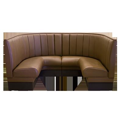 Upholstered 1 2 Restaurant Corner Booth Millennium