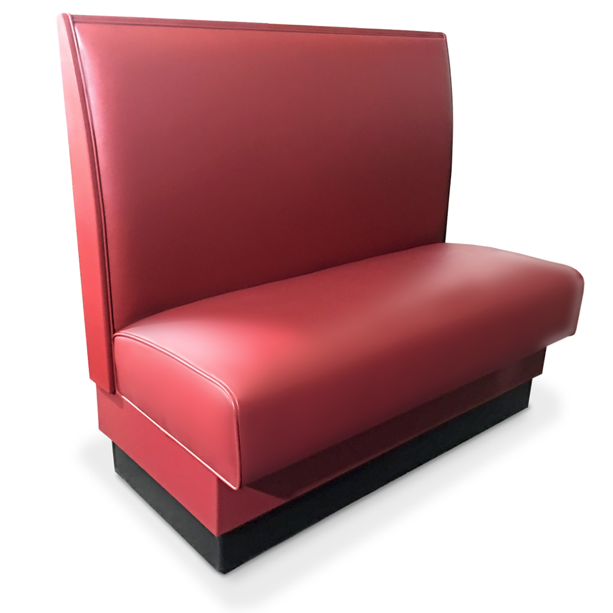 36 Upholstered Spring Seat Single Booth | Millennium Seating