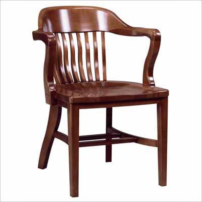 Acf 688 Wooden Arm Chair Millennium Seating Usa