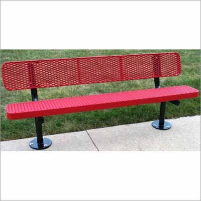 Champion Park Bench With Back Millennium Seating