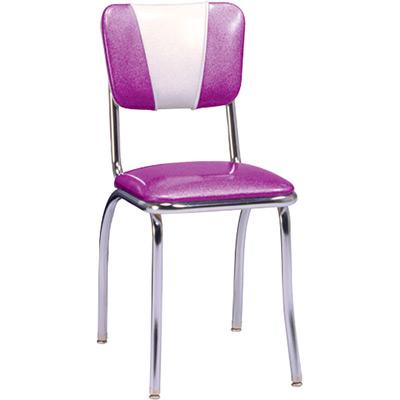 50u0027s V Back Retro Diner Chair