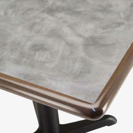 Premium Wood Edge Table Top Millennium Seating
