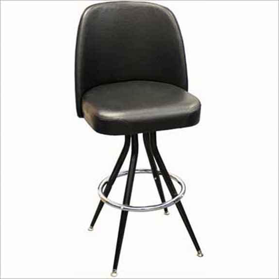 Super Jumbo Seat Flaired Back Swivel Bar Stool Millennium Seating Ibusinesslaw Wood Chair Design Ideas Ibusinesslaworg