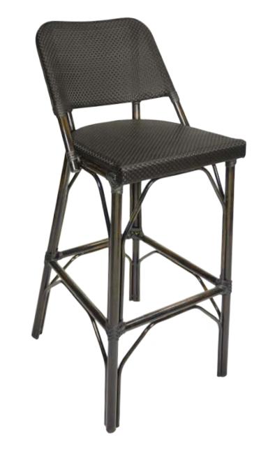 Mai tai outdoor barstool millennium seating usa