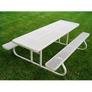 Champion Picnic Table Millennium Seating - Mesh picnic table